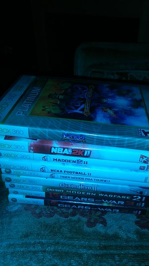 Variety xbox 360 games for Sale in Baltimore, MD