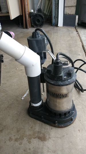 1/2 hp pool draining pump with auto shut off float for Sale in Phoenix, AZ