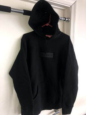 Supreme box logo tonal black xl for Sale in Miami, FL