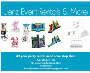 Party supplies rental for Sale in Riverdale, GA