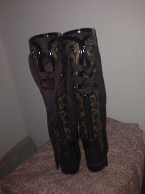 Coach rain boots for Sale in Philadelphia, PA