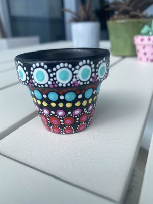 Hand painted mini pots. Perfect for gifts for Sale in Miami, FL