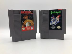 Nintendo NES | 2 Games Tecmo baseball and Shadow Gate for Sale in Los Angeles, CA