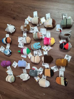 Tsum tsum brandnew with tags 25 pcs for Sale in Oklahoma City, OK