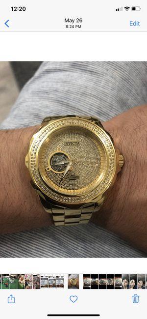 Diamond Invicta watch for Sale in Naugatuck, CT