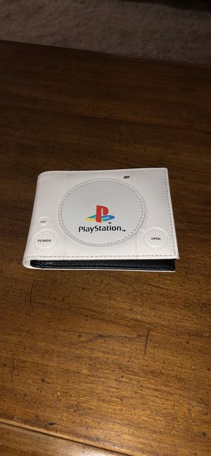 Sony PlayStation original retro PS to PS one PS3 PS4 wallet bifold for Sale in Mesquite, TX