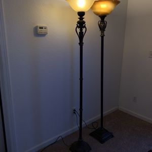 2 Vintage style floor lamps for Sale in Fremont, CA