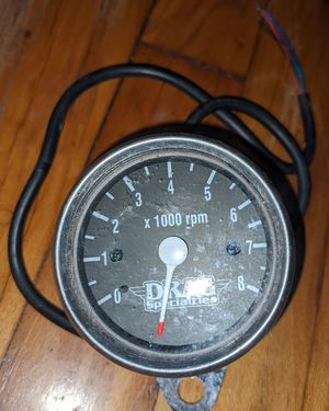 Drag Specialties Black Mini Mechanical Speedometer Speedo Harley Davidson Fxr for Sale in Baton Rouge, LA
