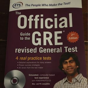 Official Guide To The The GRE, GRE Quantitative Reasoning for Sale in Dallas, TX