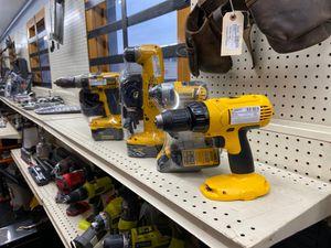 Desalt cordless drills for Sale in Hope Mills, NC