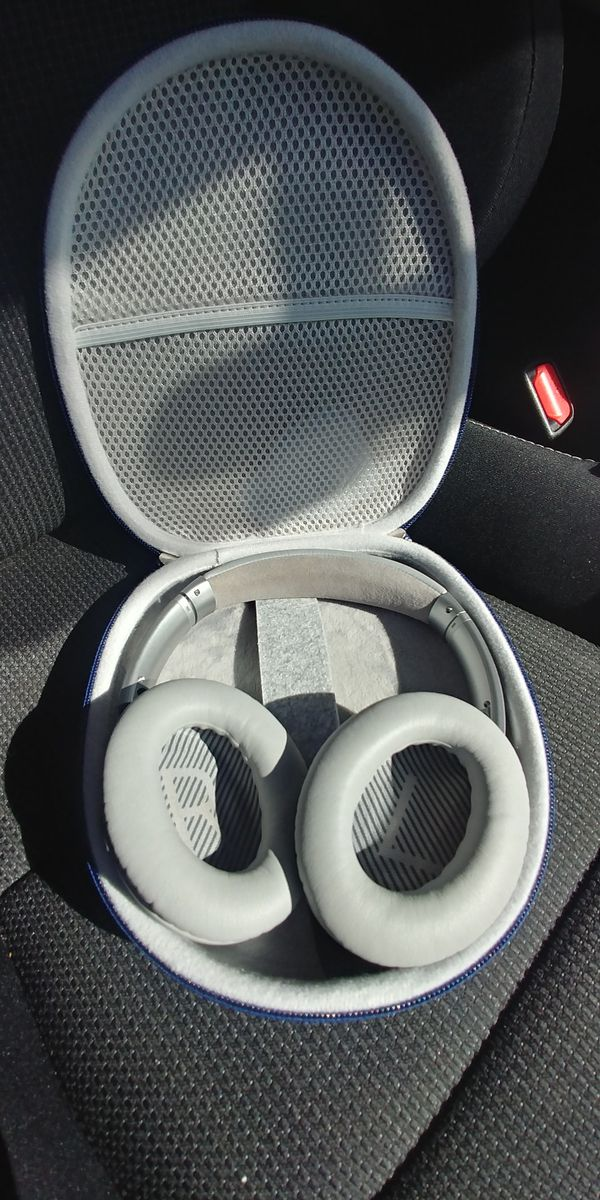 Carrying case for bose QC-2 headphones