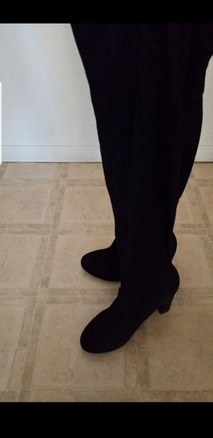 Womens size 8.5 thigh high heel boots for Sale in San Diego, CA