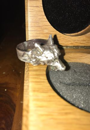 Antique wolf ring with box(200 resell price) for Sale in Idaho Springs, CO