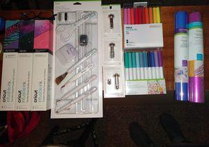 Cricut materials &accessory/tools lot for Sale in Spokane, WA