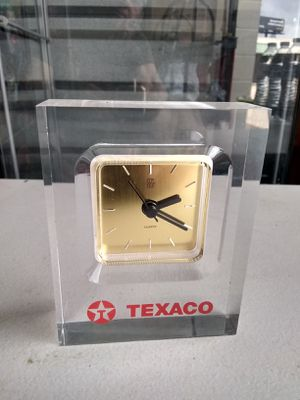 collectible antique glass clock for Sale in Houston, TX