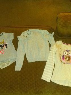 Cute Fun Little Girl Tops Size 6 To 7 for Sale in Wichita,  KS