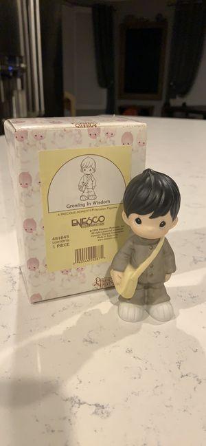 New precious moments growing in wisdom Asian school boy for Sale in Boston, MA