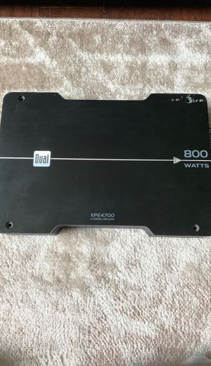 XPE4700 4 channel amplifier for Sale in Columbus, OH
