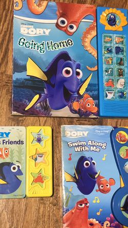 Disney Pixar Finding Dory Sound Books Lot of 3 for Sale in Oviedo,  FL