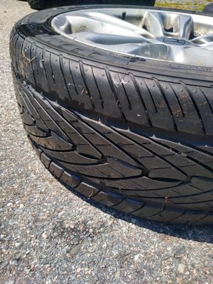 "17 "" Honda Civic SI rims with tires for Sale in Salem, NH"