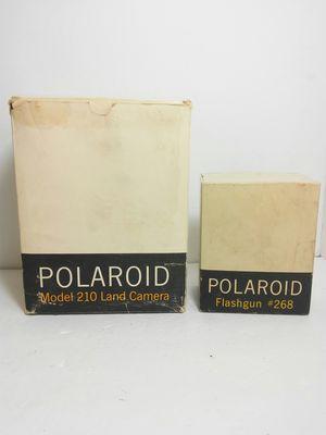 VTG 1960s POLAROID 210 Automatic Land Camera Flash Film Clip & Manuals in Box for Sale in Orlando, FL