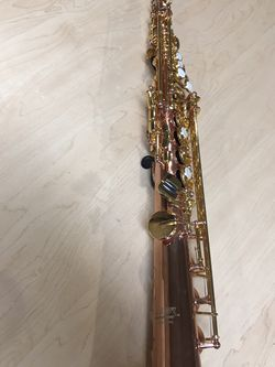 Rose Gold Plated Straight Soprano Saxophone for Sale in Hillsboro,  OR