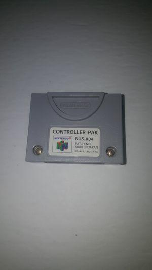 N64 controller pak for Sale in Dawson, GA