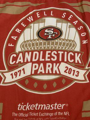"Candlestick Park Farewell Season Flag, 22""x18"" for Sale in Covington, WA"