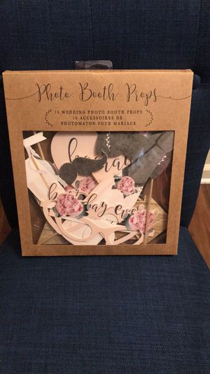 Wedding Photo Booth Props for Sale in Arlington, TX