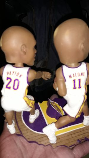 Bobble heads karl malone payton for Sale in Banning, CA