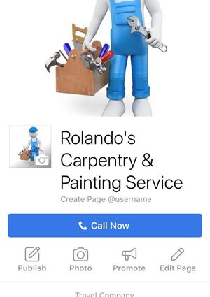 Rolando's Carpentry & Painting Services for Sale in Silver Spring, MD
