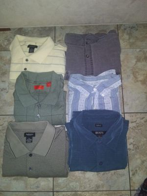 Lot of 6 pieces of men's clothes size XL for Sale in Hialeah, FL
