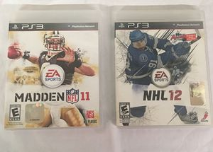 Two PS3 games for Sale in New Milford, CT