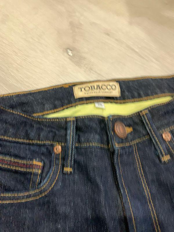 Tobacco woman's moto Jeans 25