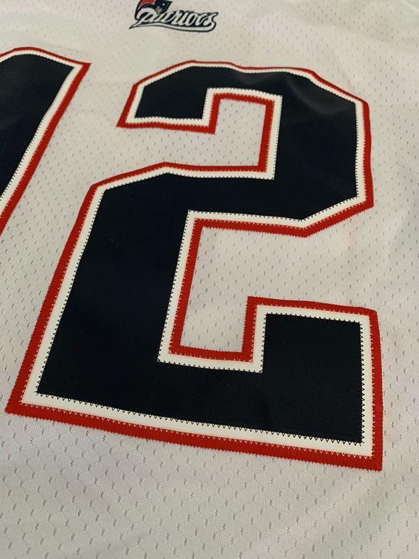 Reebok NFL Tom Brady Patriots Away Authentic Jersey sz 2XL