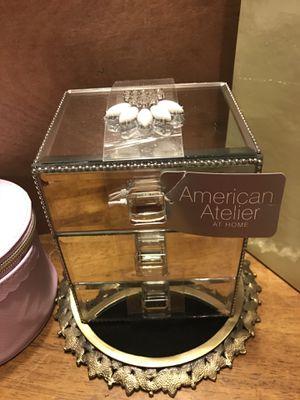 Beautiful! Mirrored Jewelry Box for Sale in Gainesville, VA