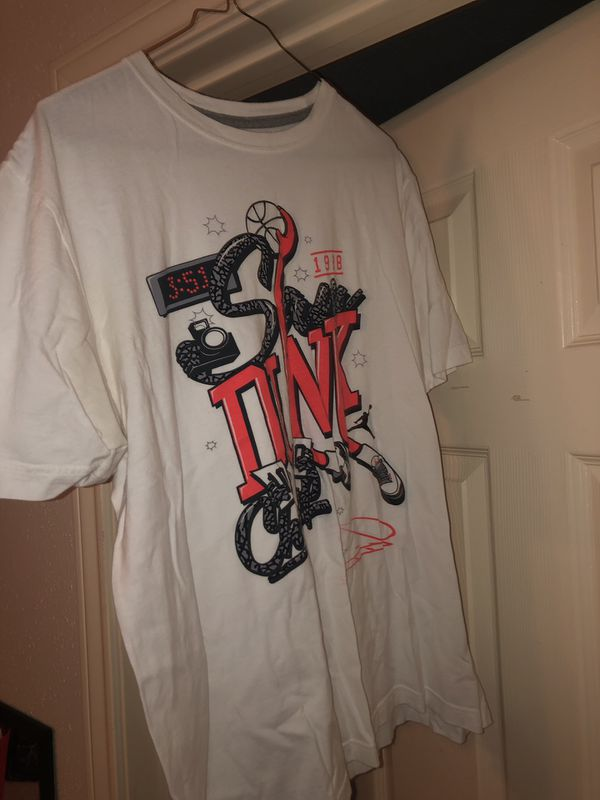 Nike T shirt (Size : L)
