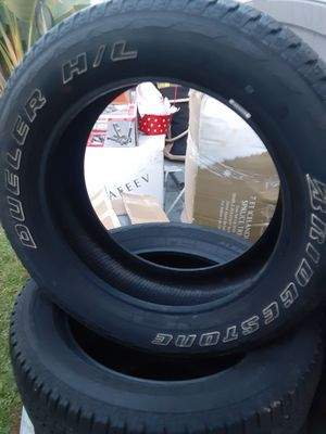 275/55/20 Bridgestone dueler tires for Sale in Paramount, CA
