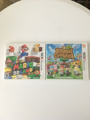 2 3ds game for Sale in Annandale, VA