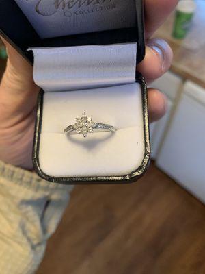 Tiffany & Co pt950 diamond ring , Victorian cut. for Sale in Torrington, CT