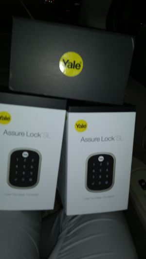 3(three)*** Yale*** Assure Lock SL brand new (all of them are in box) for Sale in Bellevue, WA