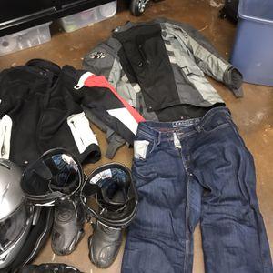 Motorcycle Gear, Helmet, Jackets, Sena Bluetooth for Sale in Portland, OR