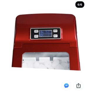 Northair HZB-12B Portable Compact Electric Ice Maker Machine Counter Top with LCD Display (Red) for Sale in San Gabriel, CA