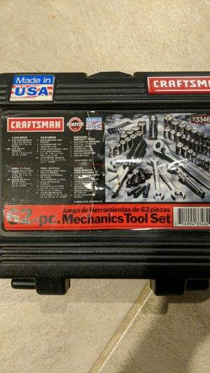 Craftsman Mechanics Tool Set for Sale in Laurel, MD