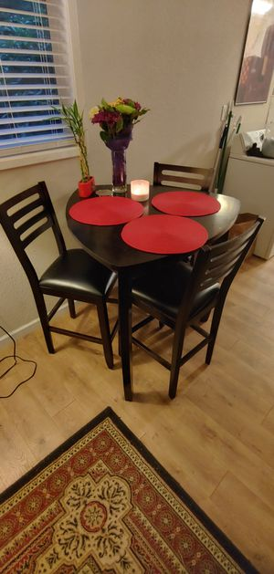 Kitchen Table 3 Chairs for Sale in North Plains, OR