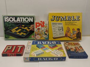 Vintage Game Lot of 5 Different Family Games - Bring Back Family Game Night! for Sale in Elk Grove Village, IL