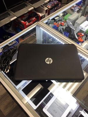 "HP 15-f233wm 15.6"" Intel Celeron 1.6GHz 4GB 500GB Notebook Win 10 for Sale in Saugus, MA"
