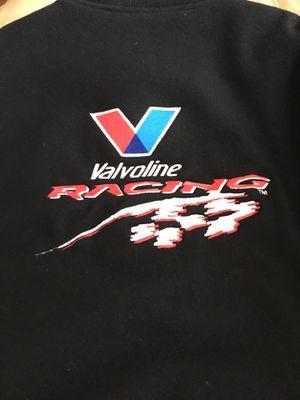 VALVOLINE RACING LEATHER JACKET COAT for Sale in Joliet, IL