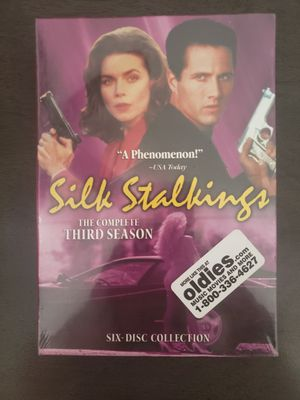 Silk Stalkings Complete Third Season 3 6-Disc 2005 DVD Set Region 1 NTSC NEW. Condition is Brand New. for Sale in Rancho Cucamonga, CA