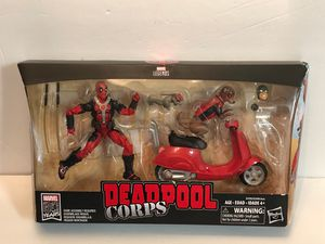 Marvel Legends Deadpool Corps 80 Years Hasbro Includes for Sale in Las Vegas, NV